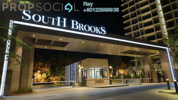 Condominium For Sale in South Brooks, Desa ParkCity Freehold Unfurnished 2R/2B 950k