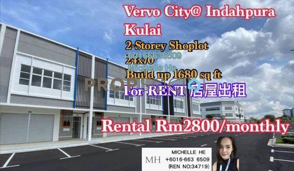 Shop For Rent in Indahpura Central, Bandar Indahpura Freehold Unfurnished 0R/0B 3.8k