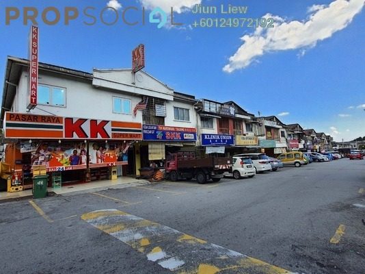 Shop For Rent in Taman Megah, Cheras South Freehold Unfurnished 0R/0B 1.3k
