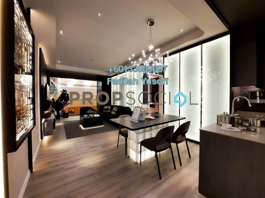 Condominium For Sale in The Fiddlewoodz, KL Metropolis Freehold Unfurnished 2R/2B 902k