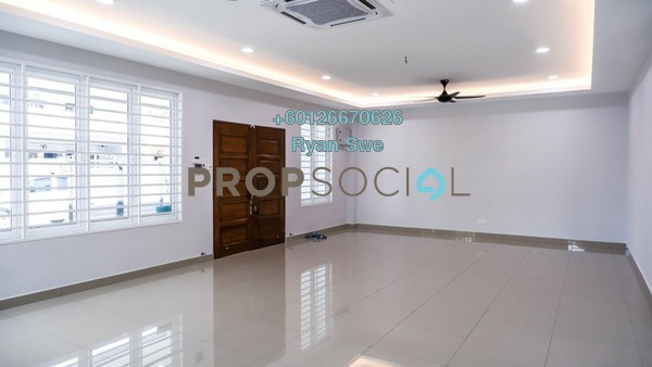 Terrace For Rent in Kepong Baru, Kepong Freehold Semi Furnished 5R/5B 3.5k