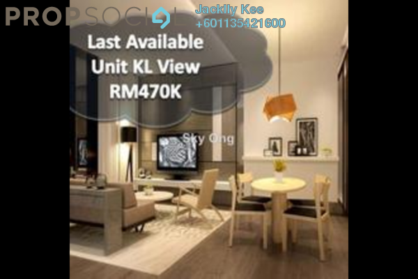 Condominium For Sale in The Hermington, Kuchai Lama Freehold Semi Furnished 3R/3B 475k
