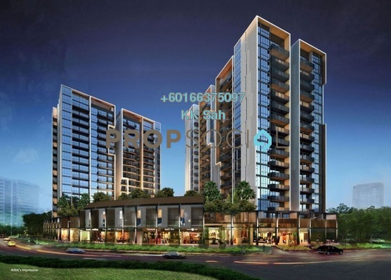 Condominium For Sale in Jalan Equine, Equine Park Leasehold Unfurnished 2R/2B 289k
