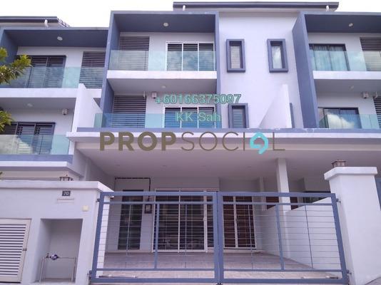 Superlink For Rent in Mansion 88, Semenyih Freehold Semi Furnished 5R/5B 1.3k