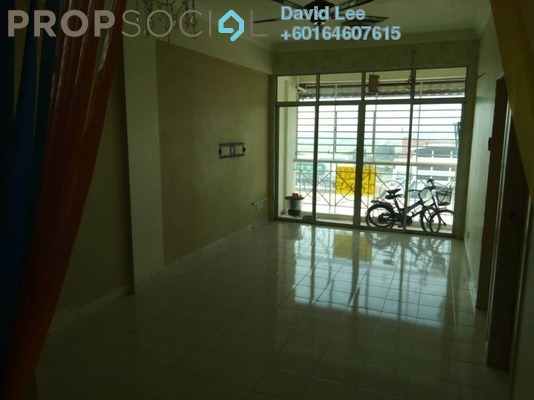 Apartment For Sale in Saujana Damai, Sungai Ara Freehold Semi Furnished 3R/2B 300k