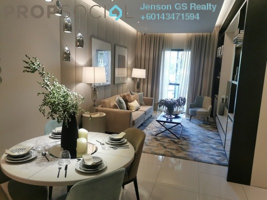 Condominium For Sale in Duta Park Residences, Jalan Ipoh Freehold Semi Furnished 3R/2B 699k