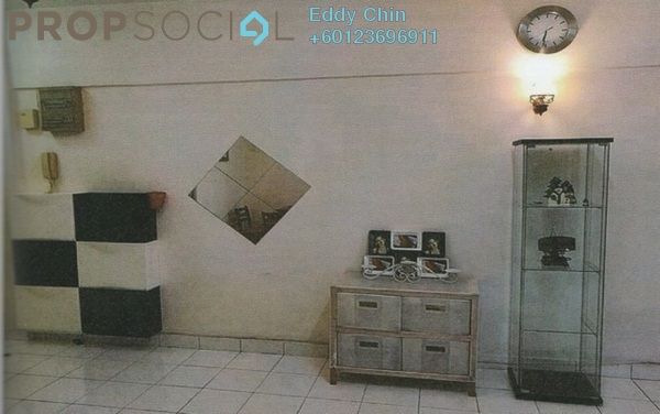 Condominium For Sale in Anjung Hijau, Bukit Jalil Freehold Semi Furnished 3R/2B 500k