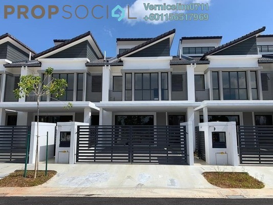 Terrace For Sale in Mutiara Puchong, Puchong Freehold Unfurnished 4R/4B 432k