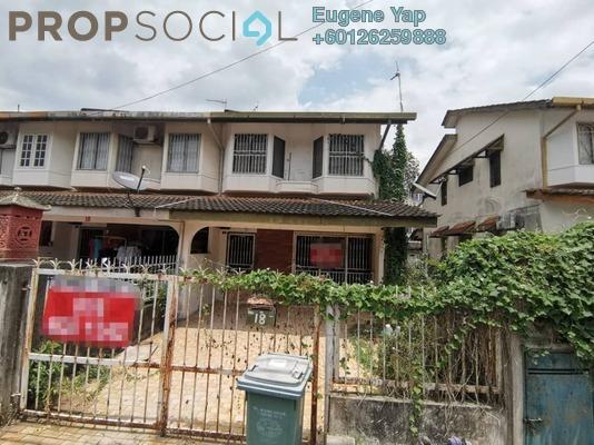 Terrace For Sale in Taman Sri Sinar, Segambut Freehold Unfurnished 3R/2B 620k