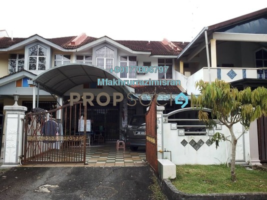 Terrace For Sale in Bandar Putra Kulai, Kulai Freehold Semi Furnished 4R/3B 468k