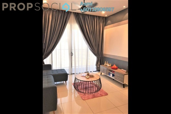 Condominium For Rent in Setia City Residences, Setia Alam Freehold Fully Furnished 3R/2B 2.3k