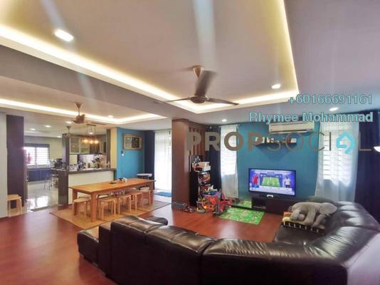 Terrace For Sale in Taman Sierra Ukay, Ampang Jaya Leasehold Semi Furnished 4R/3B 1.25m