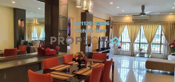 Serviced Residence For Sale in East Lake Residence, Seri Kembangan Leasehold Fully Furnished 3R/2B 450k