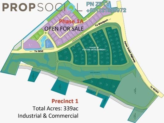 Land For Sale in Pulau Indah Industrial Park, Port Klang Freehold Unfurnished 0R/0B 3.27m