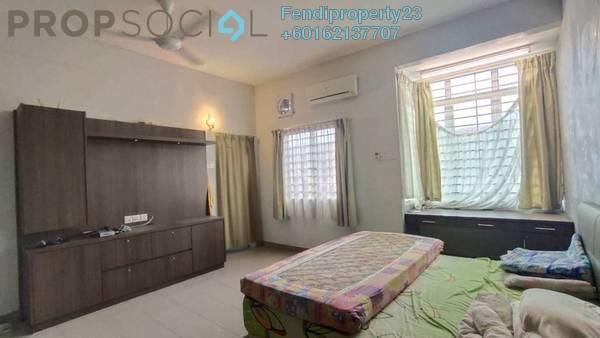 Terrace For Sale in Section 3, Bandar Mahkota Cheras Freehold Semi Furnished 4R/3B 610k