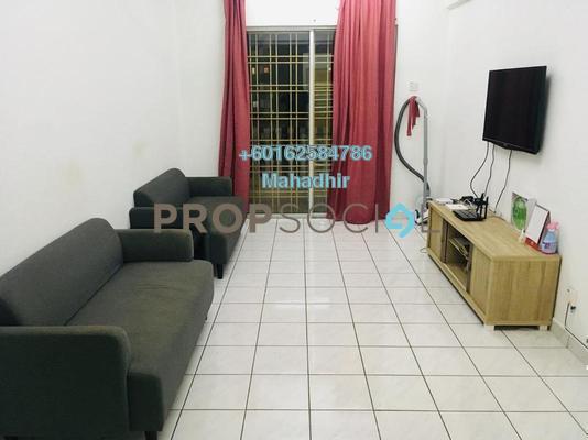 Apartment For Rent in Sri Lavender Apartment, Kajang Freehold Fully Furnished 3R/2B 1.1k