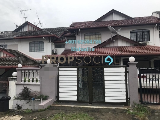 Terrace For Sale in Taman Sri Bahagia, Cheras South Freehold Semi Furnished 4R/3B 575k