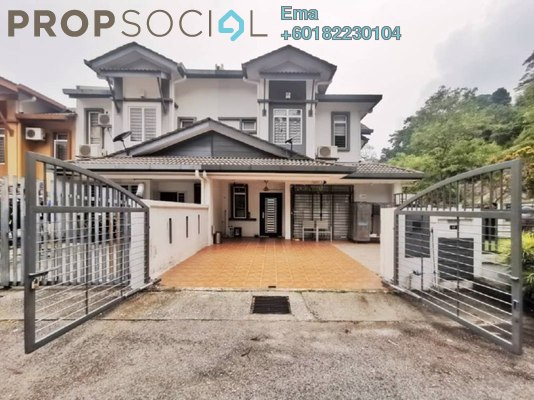 Terrace For Sale in Taman Sierra Ukay, Ampang Jaya Freehold Semi Furnished 4R/3B 1.35m