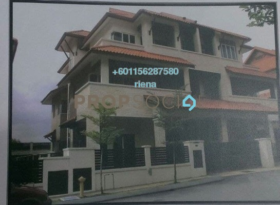 Semi-Detached For Sale in Ampang Jaya, Ampang Freehold Unfurnished 7R/8B 2.2m