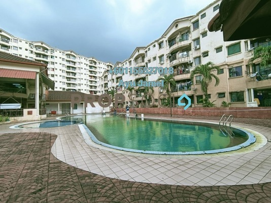 Apartment For Sale in Section 13, Shah Alam Freehold Semi Furnished 3R/2B 275k