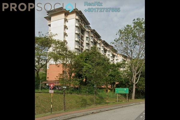 Apartment For Sale in Baiduri Apartment, Shah Alam Freehold Semi Furnished 3R/2B 330k
