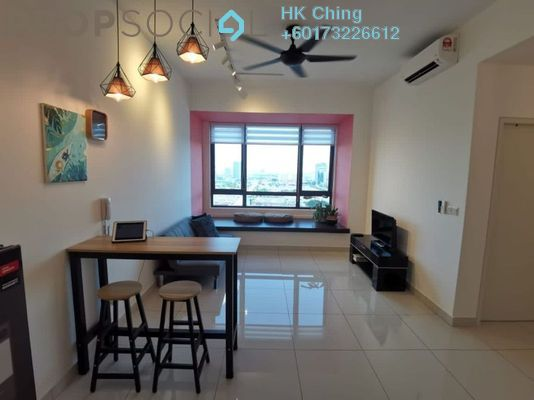 Condominium For Rent in Greenfield Residence, Bandar Sunway Freehold Fully Furnished 2R/1B 2.4k