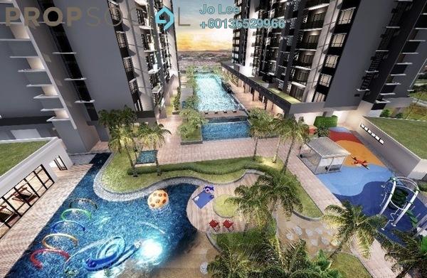 Serviced Residence For Sale in Gaya Resort Homes, Bukit Rimau Freehold Semi Furnished 3R/2B 510k