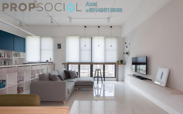 Condominium For Sale in Jalan Ampang, Kuala Lumpur Freehold Semi Furnished 3R/2B 728k