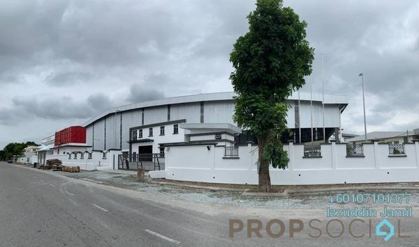 Factory For Rent in Bandar Puncak Alam, Kuala Selangor Freehold Unfurnished 0R/0B 72k