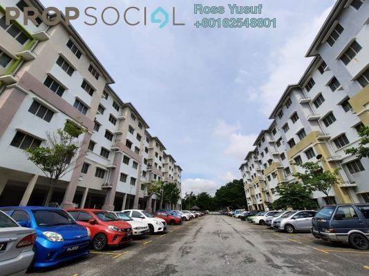 Apartment For Rent in Seroja Apartment, Setia Alam Freehold Unfurnished 3R/2B 800translationmissing:en.pricing.unit