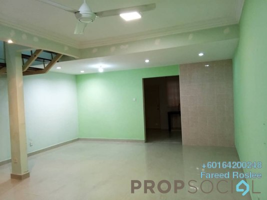 Terrace For Sale in BSP 21, Bandar Saujana Putra Freehold Semi Furnished 4R/3B 394k