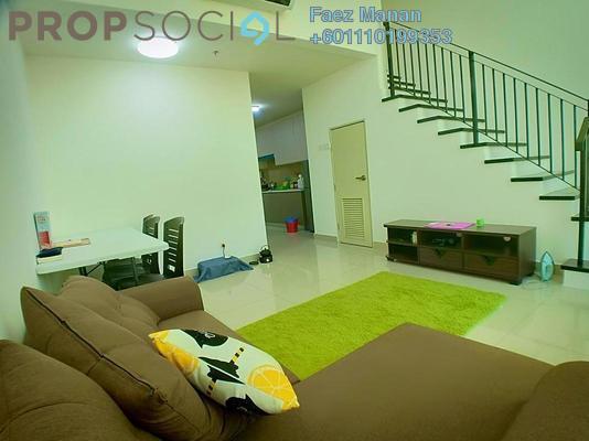 Duplex For Rent in Mutiara Ville, Cyberjaya Freehold Fully Furnished 3R/2B 1.5k