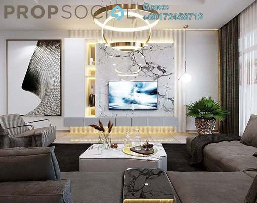 Condominium For Sale in Brezza One Residency, Ampang Jaya Freehold Fully Furnished 3R/3B 588k