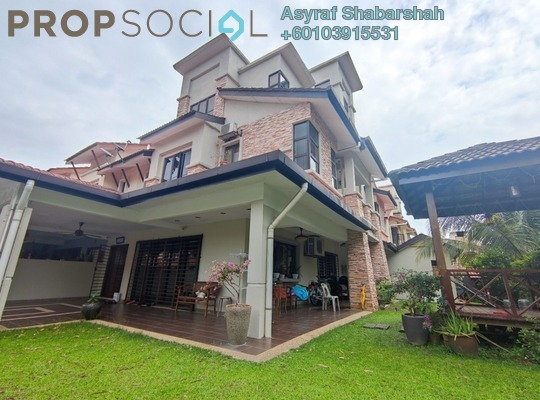 Terrace For Sale in Bandar Nusaputra, Puchong Freehold Fully Furnished 5R/5B 1.3m