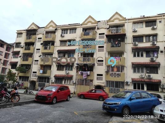Apartment For Rent in Makmur Apartment, Bandar Sunway Freehold Semi Furnished 3R/2B 1.1k