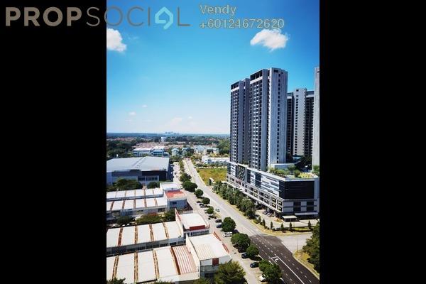 Apartment For Sale in Gaya Resort Homes, Bukit Rimau Freehold Semi Furnished 3R/2B 513k