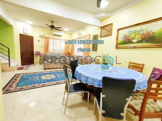 Terrace For Sale in Taman Bukit Rawang Jaya, Rawang Freehold Unfurnished 4R/3B 550k
