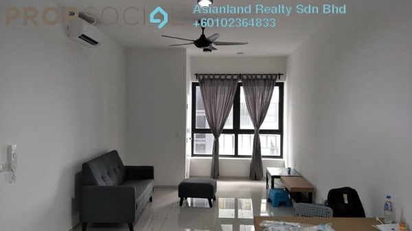 Serviced Residence For Rent in D'Sara Sentral, Sungai Buloh Freehold Semi Furnished 2R/1B 1.6k