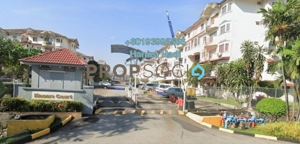 Apartment For Sale in Kenari Court, Pandan Indah Freehold Fully Furnished 3R/2B 335k