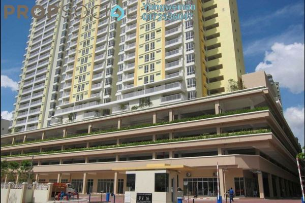 Condominium For Sale in Platinum Lake PV16, Setapak Freehold Semi Furnished 4R/2B 518k
