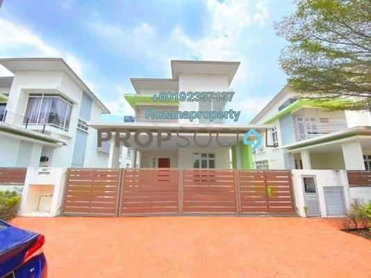 Semi-Detached For Sale in CasaIdaman, Setia Alam Freehold Semi Furnished 6R/5B 1.75m