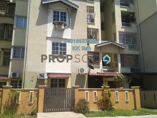 Apartment For Sale in Kasuarina Apartment, Klang Freehold Semi Furnished 3R/2B 338k