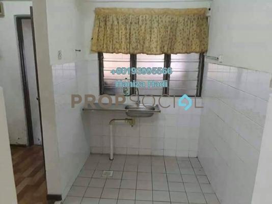 Apartment For Sale in Sri Tioman II, Setapak Freehold Unfurnished 2R/2B 250k