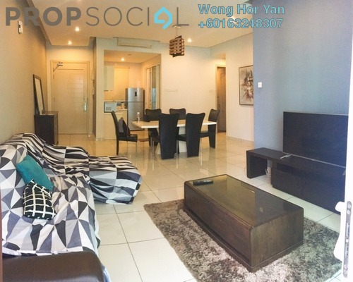 Serviced Residence For Rent in Glomac Damansara Residences, TTDI Freehold Fully Furnished 3R/2B 2.5k