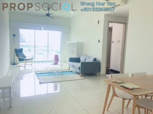 Serviced Residence For Rent in Glomac Damansara Residences, TTDI Freehold Fully Furnished 2R/2B 2.3k