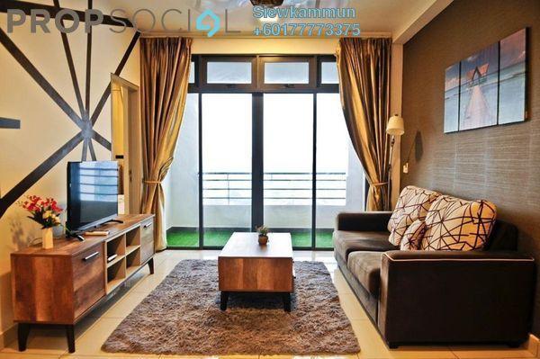 Condominium For Sale in 1Tebrau, Johor Bahru Freehold Fully Furnished 3R/2B 520k