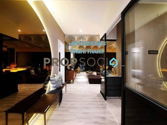 Condominium For Sale in The Fiddlewoodz, KL Metropolis Freehold Unfurnished 2R/2B 855k