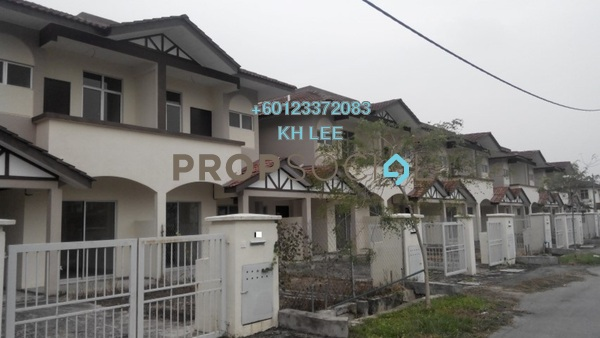 Terrace For Sale in Alam Perdana, Kuala Selangor Freehold Unfurnished 4R/3B 385k