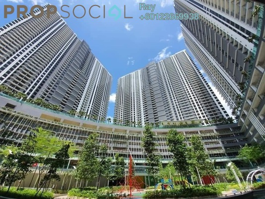 Serviced Residence For Rent in United Point Residence, Segambut Freehold Semi Furnished 3R/2B 1.8k
