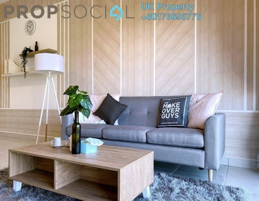 Serviced Residence For Rent in BSP 21, Bandar Saujana Putra Freehold Fully Furnished 3R/2B 2.1k